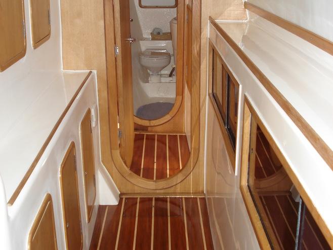 BUM Starboard Hull