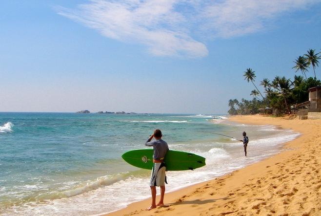 Hikaduwa Surf Beach